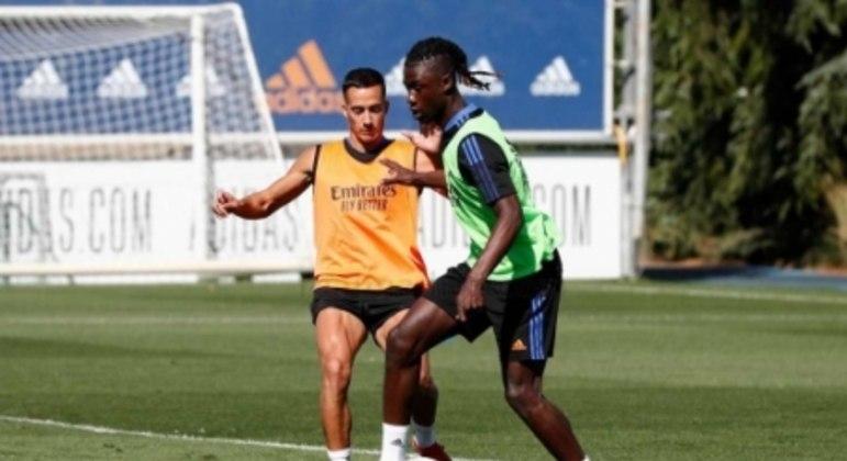 Eduardo Camavinga - Real Madrid - Treino