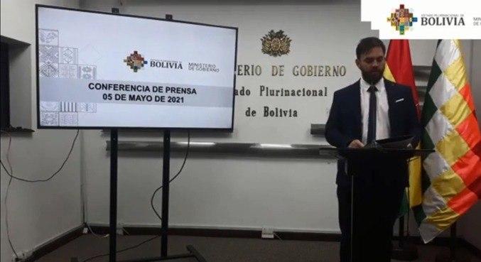 Segundo o Ministro do Interior da Bolívia, operação foi realizada após ordem judicial