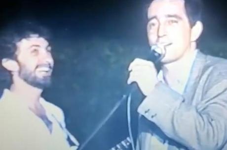 Eduardo Galvão imita Evandro Mesquita em vídeo