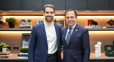 Na imagem, Eduardo Leite (RS) e João Doria (SP)