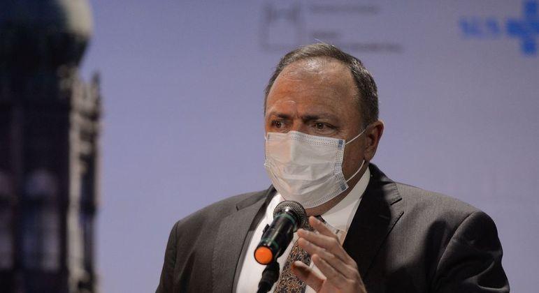 O ex-ministro Pazuello deve depor no dia 19 de maio na CPI da Covid