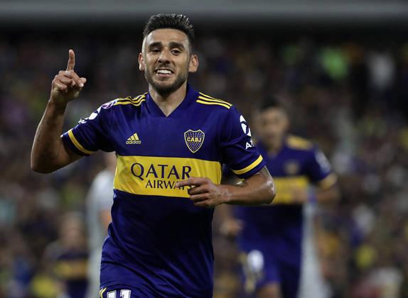 Eduardo Salvio – O atacante argentino de 30 anos é jogador do Boca Juniors (ARG). Seu contrato com a equipe atual se encerra em junho de 2022. Seu valor de mercado é estimado em 7 milhões de euros, segundo o site Transfermarkt