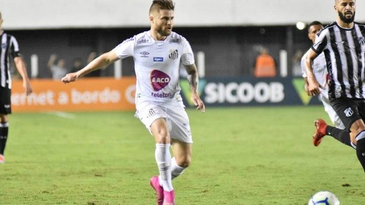 Eduardo Sasha — O atacante tem contrato com o Peixe até 31/12/2022 e, segundo o Transfermarkt, ele vale 4,5 milhões de euros (cerca de R$ 25 milhões)