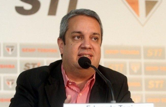 Eduardo Toni - Outra coincidência. O diretor de marketing do São Paulo atualmente é Eduardo Toni. Toni era o diretor de marketing da LG.