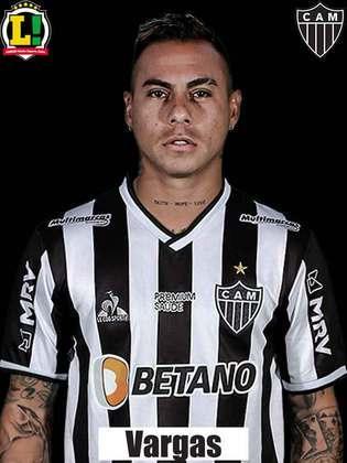 Eduardo Vargas - 6,0: Fez o gol que abriu o placar da partida, porém perdeu chance clara de ampliar o resultado.