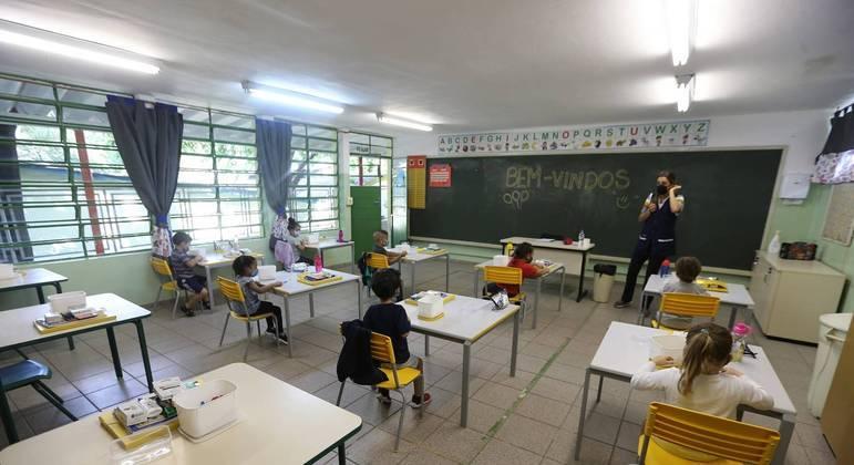 Calendário foi cumprido em 70% das redes de escolas municipais