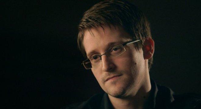 Edward Snowden está em asilo político na Rússia desde 2013