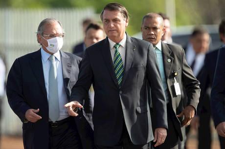 Bolsonaro se reúne com Guedes nesta sexta-feira (30)