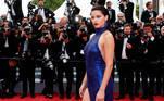 Adriana Lima cumple 40 años el 12 de junio. EFE/ Sebastien Nogier
