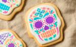 Biscoitos mexicanos caseiros com açúcar em forma de caveira (foto IMEO)