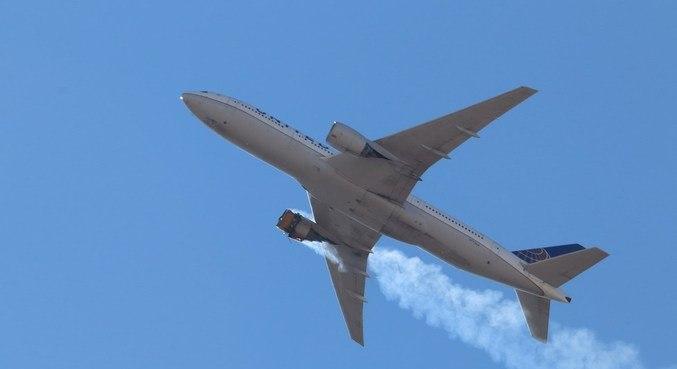 Avião teve falha no motor durante voo nos Estados Unidos