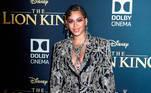 Beyoncé na apresentação do filme 'The Lion King' em 2019 em Hollywood. EFE / EPA / ETIENNE LAURENT