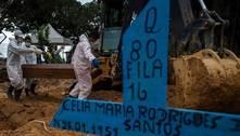 Brasil registra novo recorde diário de mortes por covid: 2.286