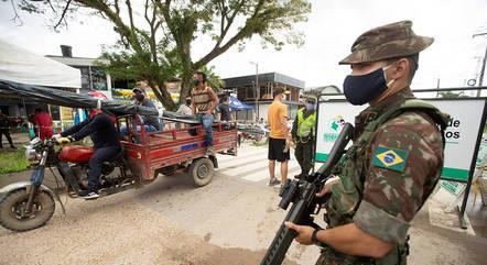 Forças Armadas somam 50.616 casos da covid-19