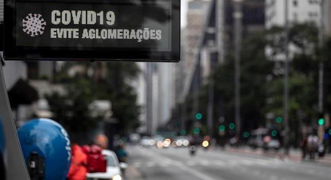Estado de São Paulo registra 11.846 mortes decorrentes da covid-19