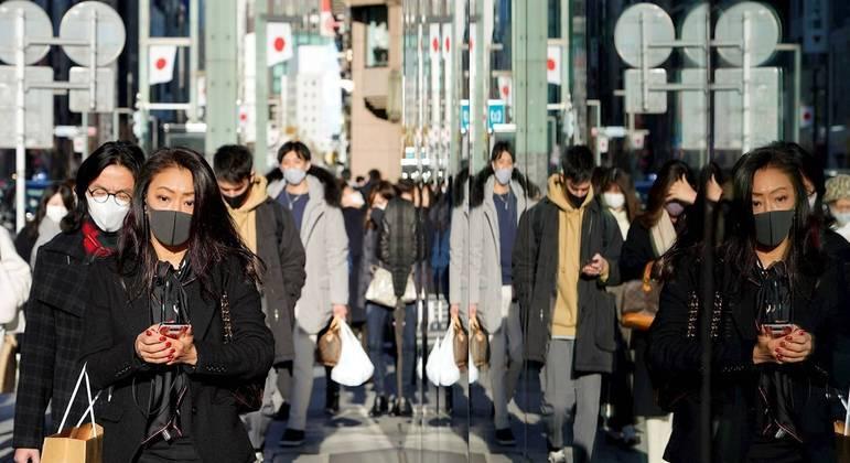 Covid em Tóquio