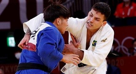Cargnin perdeu na semifinal para o japonês