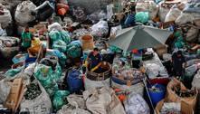 Pandemia provocou leve queda na produção mundial de plástico