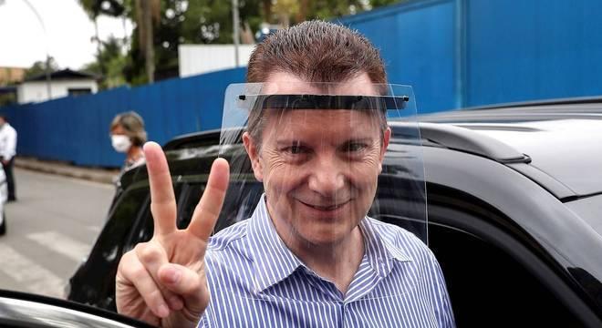 O candidato a prefeito de São Paulo Celso Russmomanno (Republicanos)