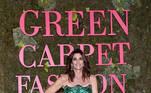 Cindy Crawford passou de modelo a mulher de negócios com uma boa fortuna. EFE / EPA / FLAVIO LO SCALZO