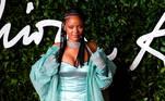 Rihanna, a cantora e empresária de Barbados está entre as mulheres mais ricas da América. EFE / EPA / WILL OLIVER