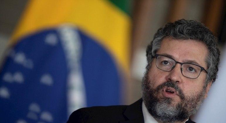 O ex-ministro das Relações Exteriores, Ernesto Araújo, que fala hoje na CPI