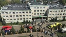 Ataque a escola deixa pelo menos 8 crianças mortas na Rússia