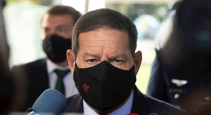 O vice-presidente Hamilton Mourão, que vai liderar operação na Amazônia