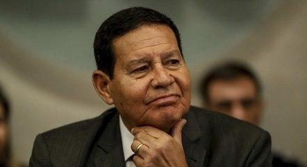 Mourão defendeu atuação de Ernesto Araújo