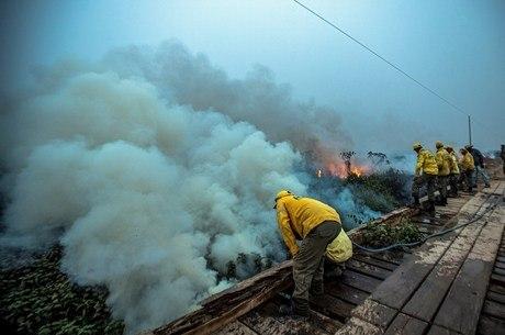 Estado sofre com queimadas em várias regiões