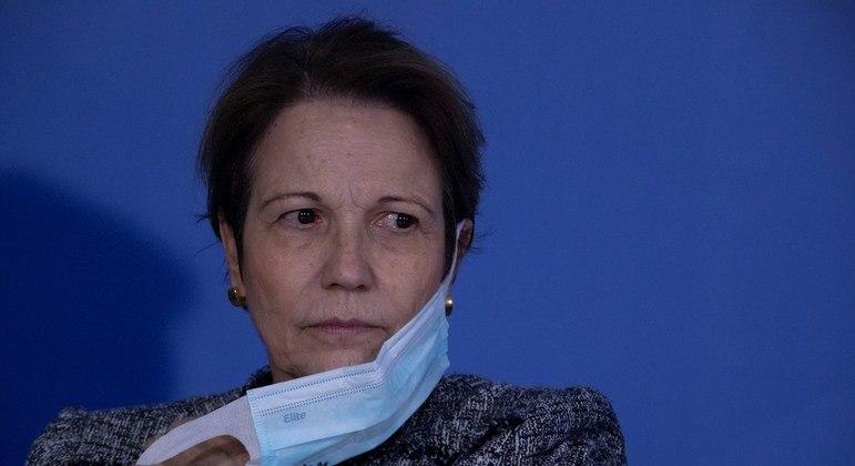 Ministra estava na Itália na semana passada para encontro de ministros do G20
