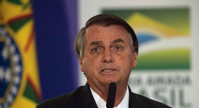 O presidente Jair Bolsonaro que se reuniu com Luiz Fux