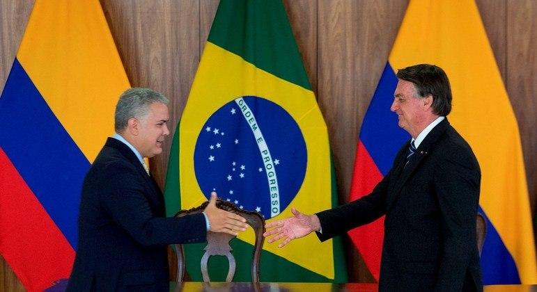 Presidentes se encontram nesta terça-feira (19) no Palácio do Planalto, em Brasília