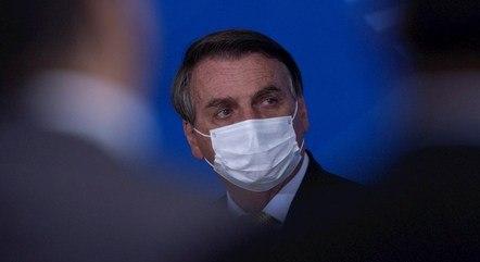Bolsonaro voltou a criticar os trabalhos da CPI