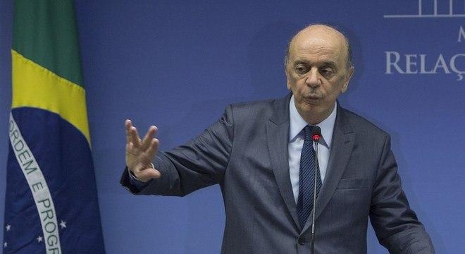 O senador José Serra (PSDB-SP) virou réu acusado de lavagem de dinheiro
