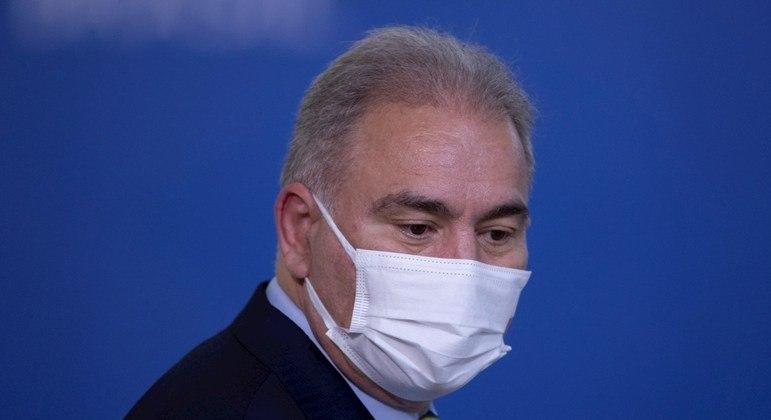 Ministro da Saúde citou medicamentos das farmacêuticas americanas Merck e Regeneron e da AstraZeneca