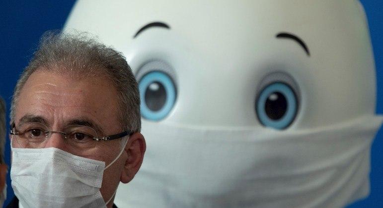 Ministro da Saúde visitou o Instituto do Coração, em São Paulo, nesta quinta-feira