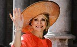 Middelburg (Netherlands).- Dutch Queen Maxima arrives prior to the award ceremony of the Four Freedoms Awards 2016 (reissued 14 May 2020). Orange is the color that envelopes tires that burn in the streets during social unrest and the flames that turn structures to ash during four-alarm fires. It is the color of the lava that flows down the facades of volcanoes and the color of fireworks that illuminate the skies as people gather to celebrate the new year. (Incendio, Países Bajos; Holanda) EFE/EPA/REMKO DE WAAL ATTENTION: This Image is part of a PHOTO SET *** Local Caption *** 52713823