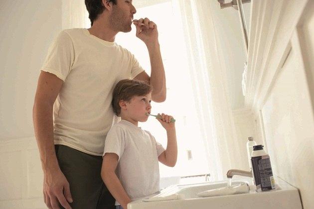 O cuidado bucal une a família (foto BluaU-Sanitas)
