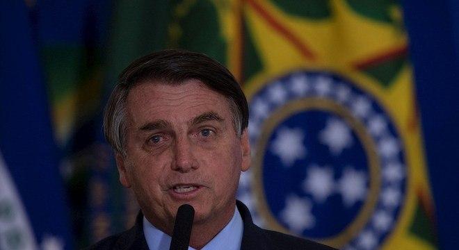 O presidente Jair Bolsonaro, que recorreu para que depoimento seja por escrito