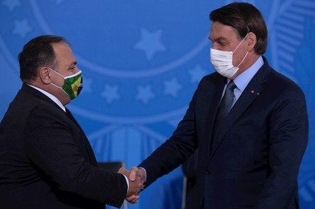 Bolsonaro negou crise com Eduardo Pazuello
