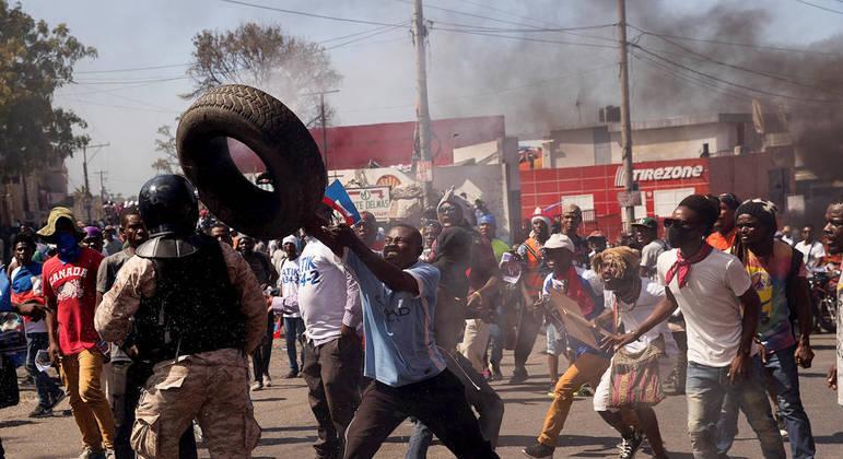 Haiti tem série de protestos intensos desde 2018