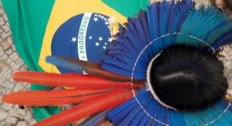 Cerca de 7 mil indígenas estão em Brasília para acompanhar julgamento do marco temporal