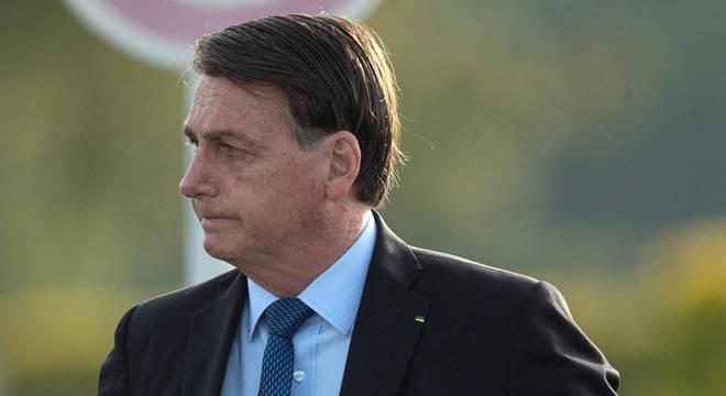 Bolsonaro retornou ao Palácio do Alvorada após velório de paraquedista no Rio