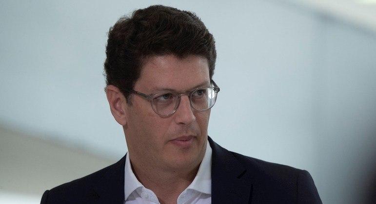 O ministro do Meio Ambiente, Ricardo Salles, alvo de notícia-crime apresentada pelo delegado Alexandre Saraiva