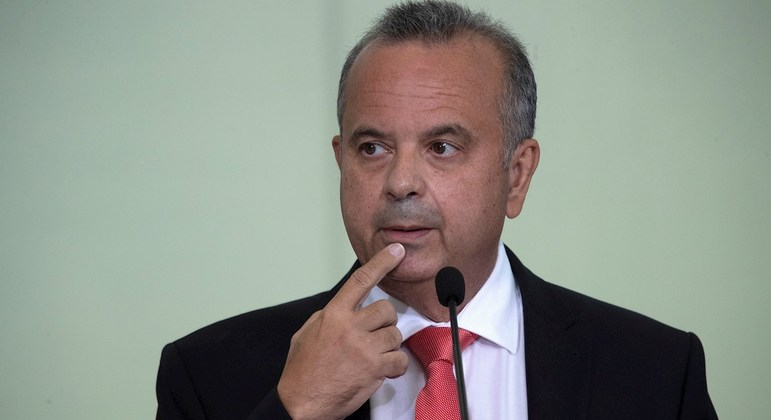 O ministro Rogério Marinho