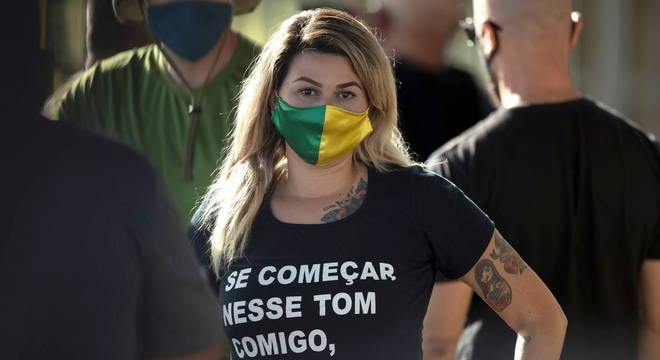 A ativista Sara Giromini