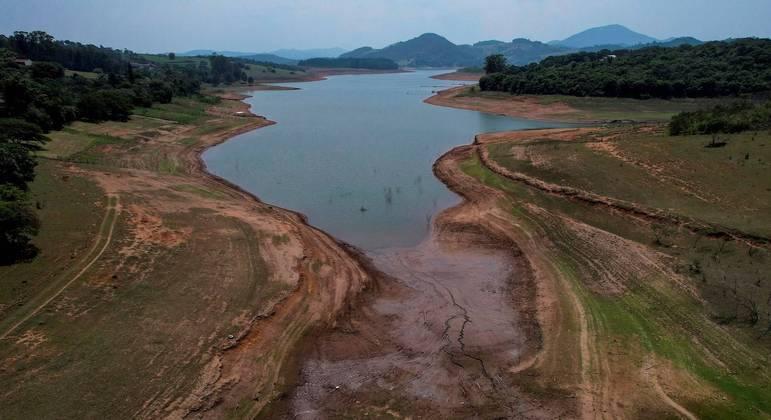 Reservatórios de água de São Paulo têm, juntos, apenas 37,7% da capacidade total