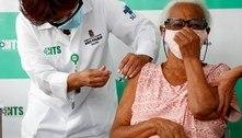 SP vacina um terço da população idosa com mais de 90 anos