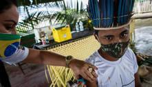Mais de um terço dos indígenas são vacinados apesar das dificuldades